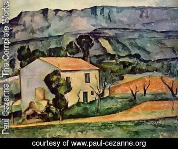 Paul Cezanne - Houses In Provence  Near Gardanne