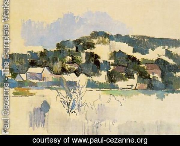 Paul Cezanne - Houses On The Hill
