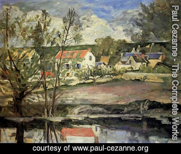 Paul Cezanne - In The Valley Of The Oise