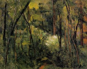 Paul Cezanne - In The Woods