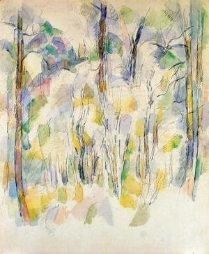 Paul Cezanne - In The Woods2