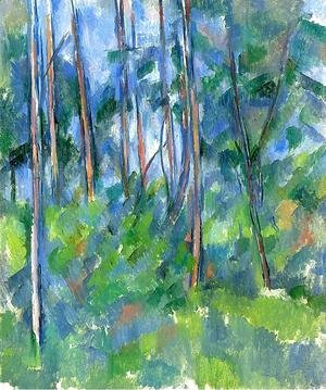 Paul Cezanne - In The Woods3