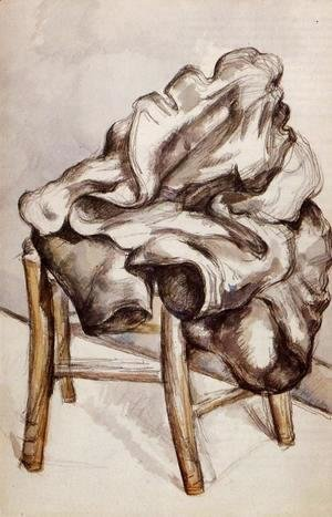 Paul Cezanne - Jacket On A Chair