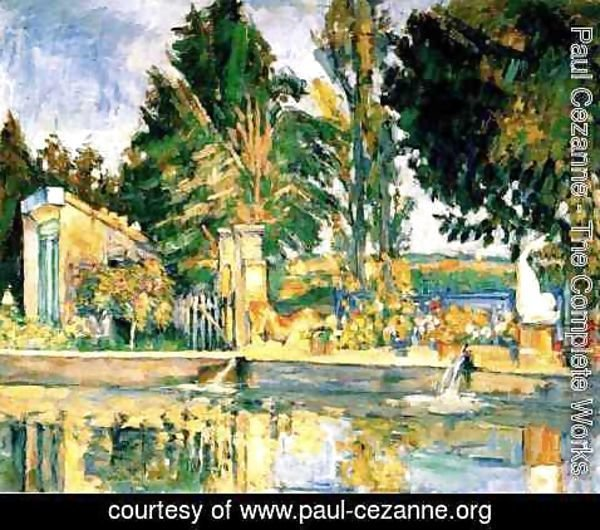 Paul Cezanne - Jas De Bouffan  The Pool