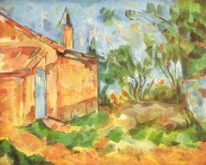 Paul Cezanne - Jourdans Cottage