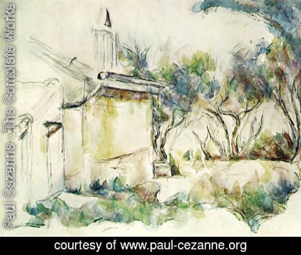 Paul Cezanne - Jourdans Cottage2