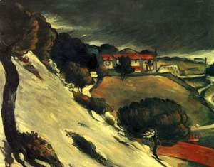 Paul Cezanne - L Estaque Under Snow