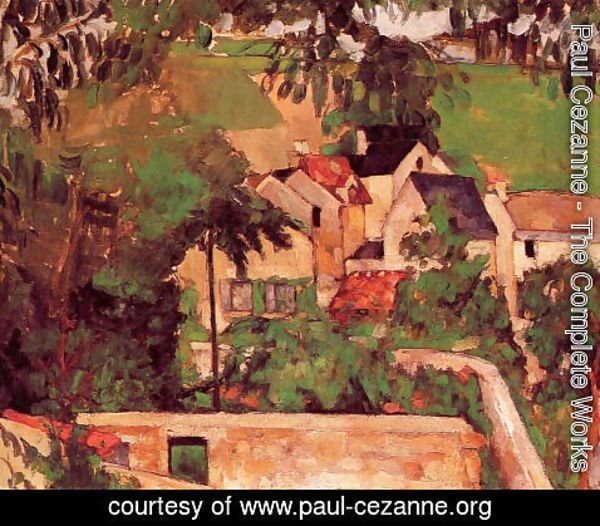 Paul Cezanne - Landscape At Auvers