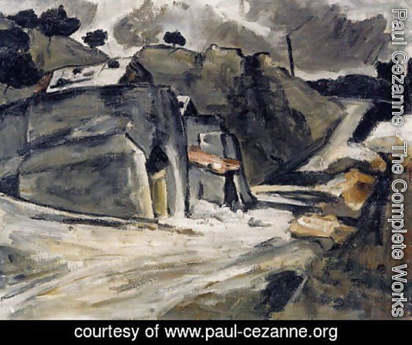 Paul Cezanne - Landscape Of Provence