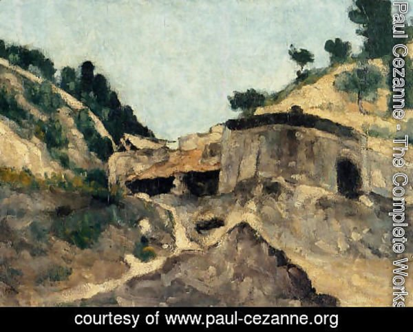 Paul Cezanne - Landscape With Watermill