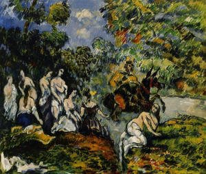 Paul Cezanne - Legendery Scene