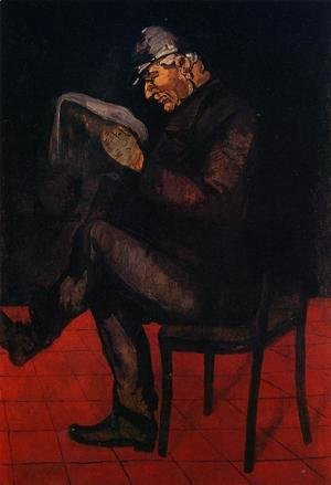 Paul Cezanne - Louis Auguste Cezanne  Father Of The Artist