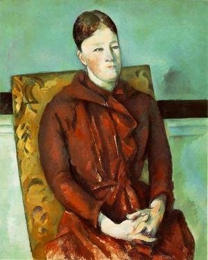 Paul Cezanne - Madame Cezanne In A Yellow Chair3
