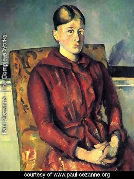 Paul Cezanne - Madame Cezanne In A Yellow Chair 2