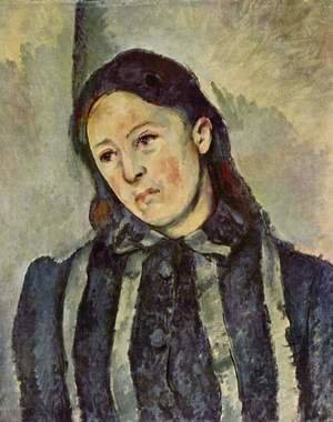 Paul Cezanne - Madame Cezanne With Unbound Hair