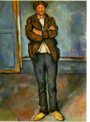 Paul Cezanne - Man In A Room