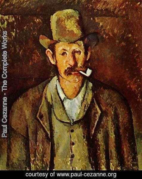 Paul Cezanne - Man With A Pipe2