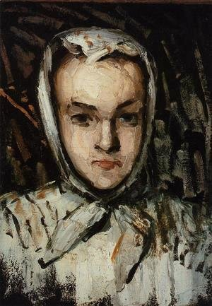 Paul Cezanne - Marie Cezanne  The Artists Sister