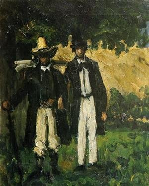 Paul Cezanne - Marion And Valabregue Setting Out For Motif