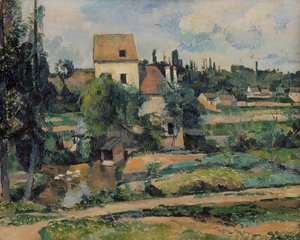 Paul Cezanne - Mill On The Couleuvre At Pontoise