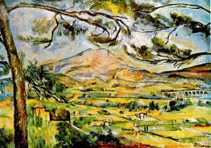 Paul Cezanne - Mont Sainte Victoire (Courtauld)