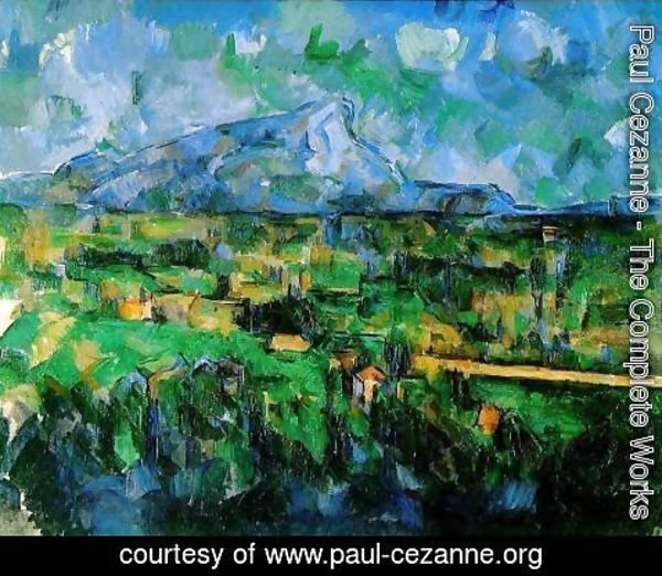 Paul Cezanne - Mont Sainte Victoire Seen From Les Lauves