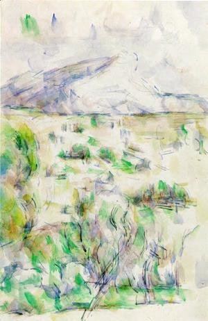 Paul Cezanne - Mont Sainte Victoire Seen From Les Lauves2