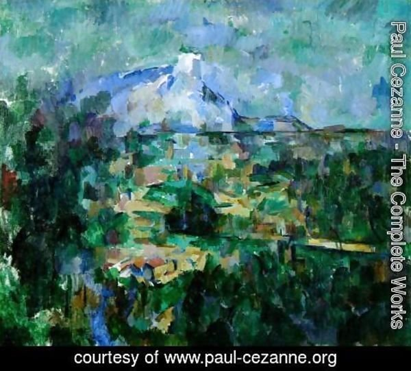 Paul Cezanne - Mont Sainte Victoire Seen From Les Lauves3