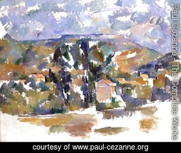 Paul Cezanne - Mont Sainte Victoire Seen From Les Lauves4