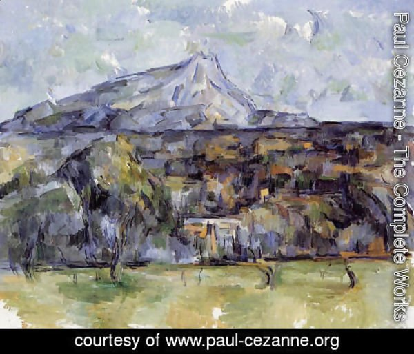 Paul Cezanne - Mont Sainte Victoire Seen From Les Lauves5