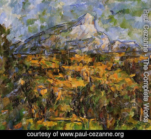 Paul Cezanne - Mont Sainte Victoire Seen From Les Lauves6