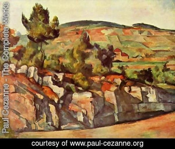 Paul Cezanne - Mountains In Provence
