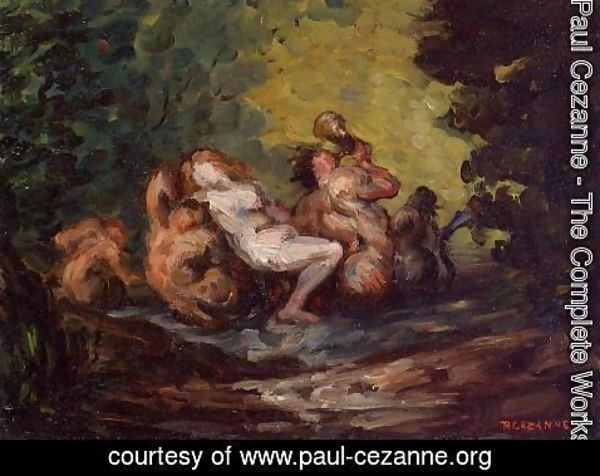 Paul Cezanne - Neried And Tritons