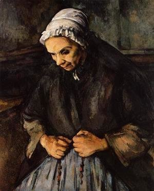 Paul Cezanne - Old Woman With A Rosary