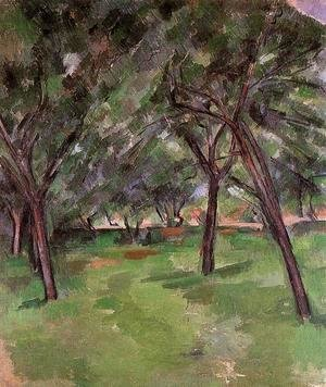 Paul Cezanne - Orchard