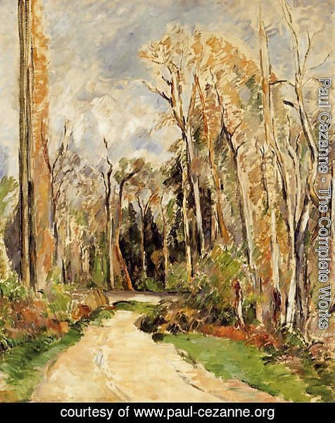 Paul Cezanne - Path At The Entrance To The Forest