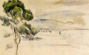 Paul Cezanne - Pine Tree In The Arc Valley