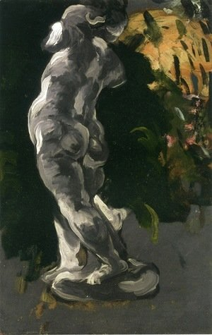 Paul Cezanne - Plaster Cupid