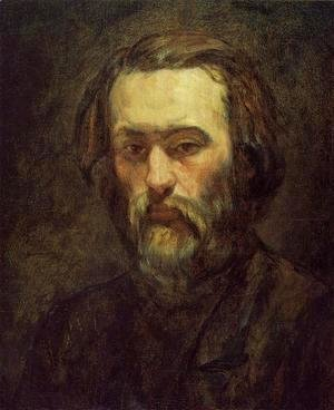 Paul Cezanne - Portrait Of A Man