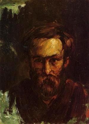 Paul Cezanne - Portrait Of A Man2
