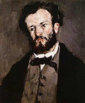 Paul Cezanne - Portrait Of A Man3