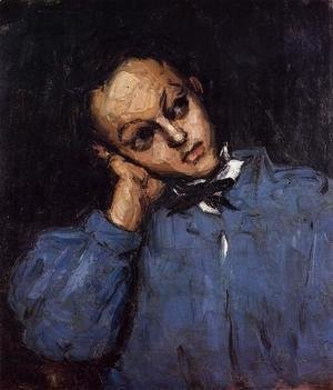 Paul Cezanne - Portrait Of A Young Man