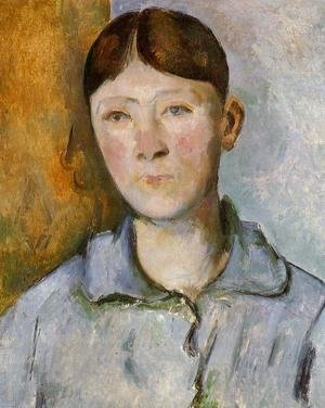 Paul Cezanne - Portrait Of Madame Cezanne2