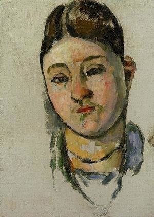 Paul Cezanne - Portrait Of Madame Cezanne3