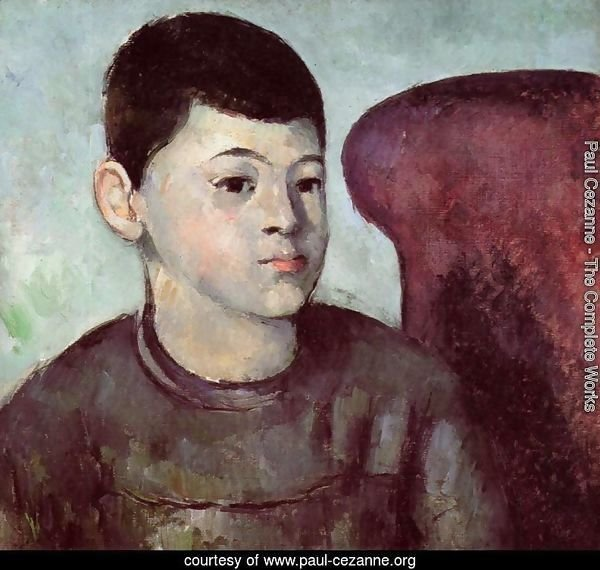 Portrait Of Paul Cezanne  The Artists Son