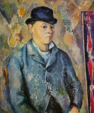 Paul Cezanne - Portrait Of The Artists Son  Paul