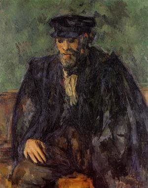Paul Cezanne - Portrait Of The Gardener Vallier