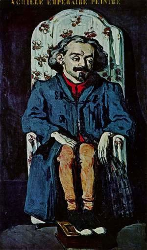 Paul Cezanne - Portrait Of The Painter  Achille Emperaire