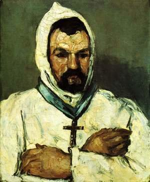 Paul Cezanne - Portrait Of Uncle Dominique As A Monk