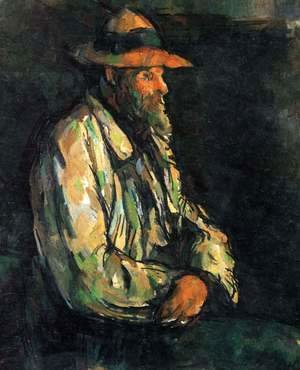 Paul Cezanne - Portrait Of Vallier